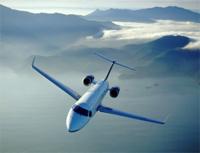 Charter aircraft flight